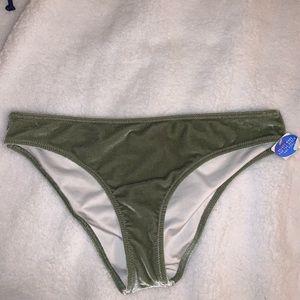 NWT PINK Velvet Swim Bottoms